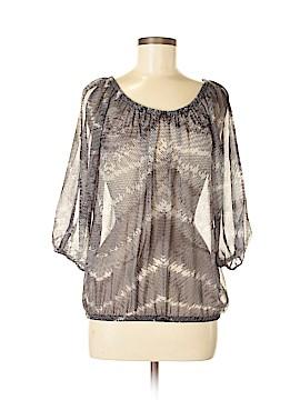 Cache 3/4 Sleeve Blouse Size L