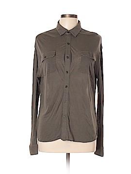 Joe's Jeans Long Sleeve Button-Down Shirt Size L