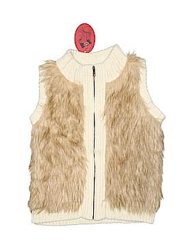 Poof Girl Faux Fur Vest Size 7 - 8