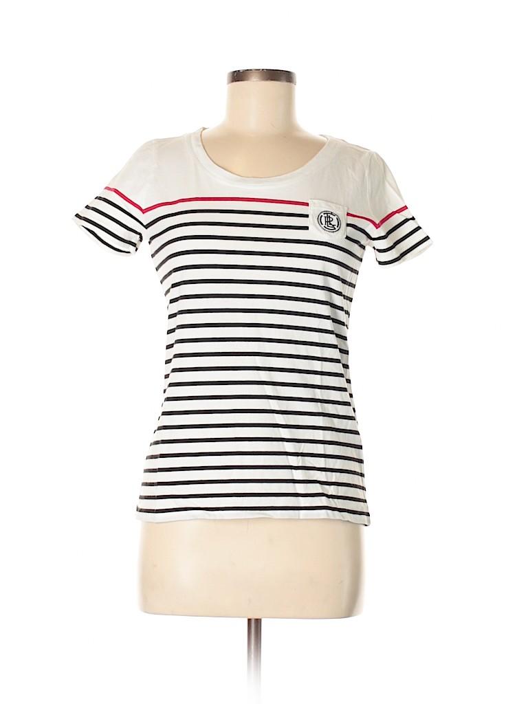 L-RL Lauren Active Ralph Lauren Women Short Sleeve T-Shirt Size M