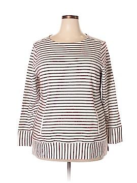 Cj Banks Sweatshirt Size 1X (Plus)