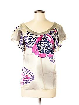 Tibi Short Sleeve Blouse Size 6