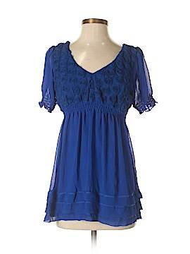 ECI Short Sleeve Blouse Size S