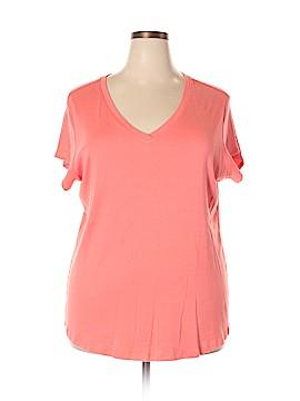Sejour Short Sleeve T-Shirt Size 3X (Plus)