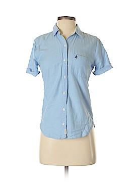 Abercrombie Short Sleeve Button-Down Shirt Size XS