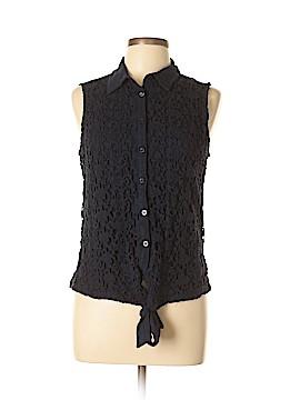 INC International Concepts Sleeveless Button-Down Shirt Size L