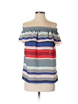 Laundry by Shelli Segal Short Sleeve Blouse Size XS
