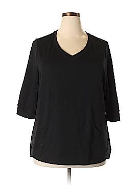 Danskin Sweatshirt Size 2X (Plus)