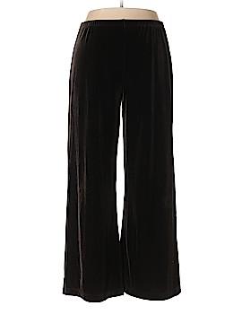 Chico's Velour Pants Size Lg (2)