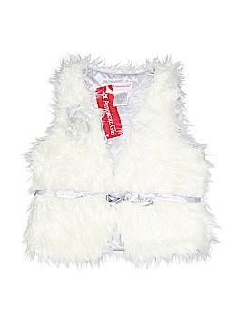 American Girl Faux Fur Vest Size 7 - 8