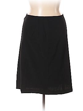 Armani Collezioni Wool Skirt Size 14