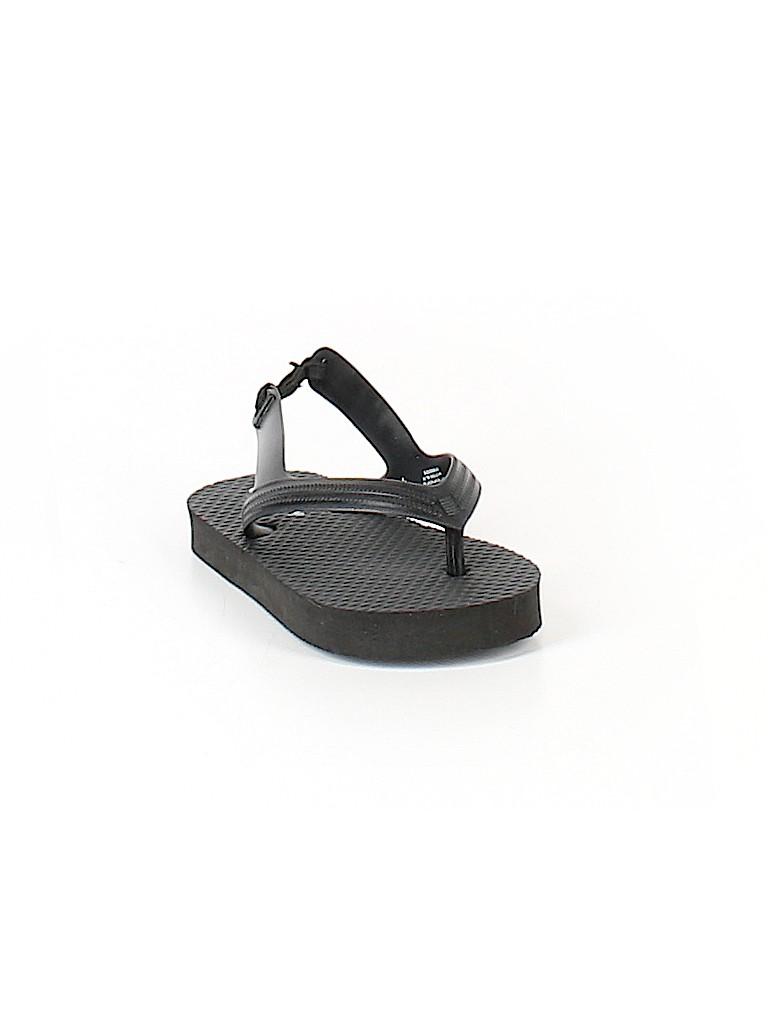 030762160f3 Old Navy Solid Black Sandals Size 6 - 73% off