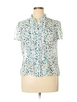East 5th Short Sleeve Blouse Size XL (Petite)