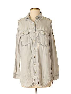 Velvet Heart Sleeveless Button-Down Shirt Size S