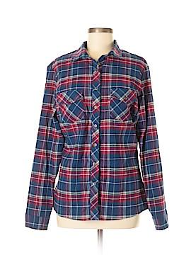 Kuhl Long Sleeve Button-Down Shirt Size L