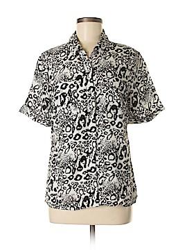 Kim Rogers Short Sleeve Blouse Size L