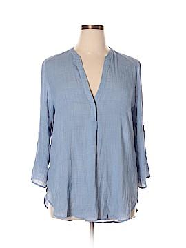 Lush Long Sleeve Blouse Size XL