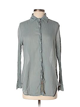 DaftBird Long Sleeve Button-Down Shirt Size S
