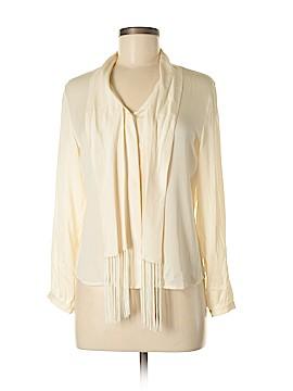 Petite Sophisticate 3/4 Sleeve Silk Top Size 6