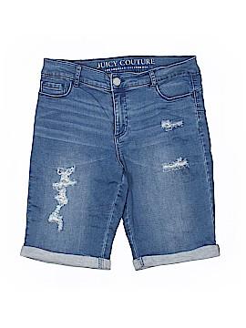 Juicy Couture Denim Shorts Size 10