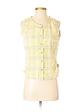 Woolrich Sleeveless Button-Down Shirt Size S