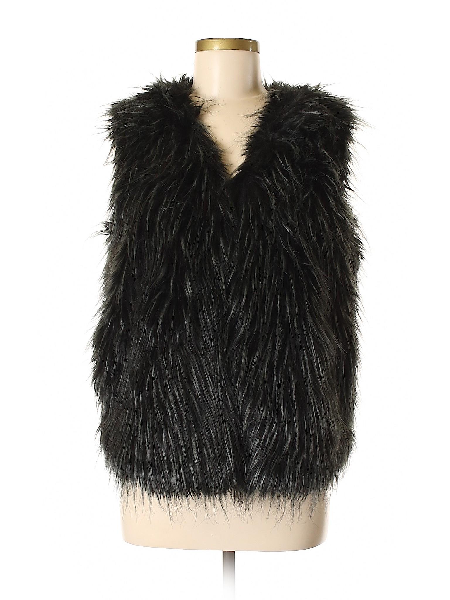 Faux Boutique Fur Alya leisure Vest xU7UwXvq