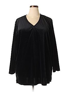 Roaman's Long Sleeve Top Size 2X (Plus)