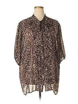 Torrid Long Sleeve Blouse Size 4 (Plus)
