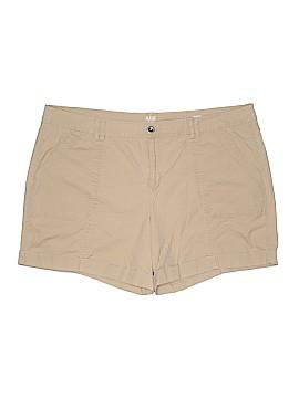 A.n.a Khaki Shorts Size 20 (Plus)