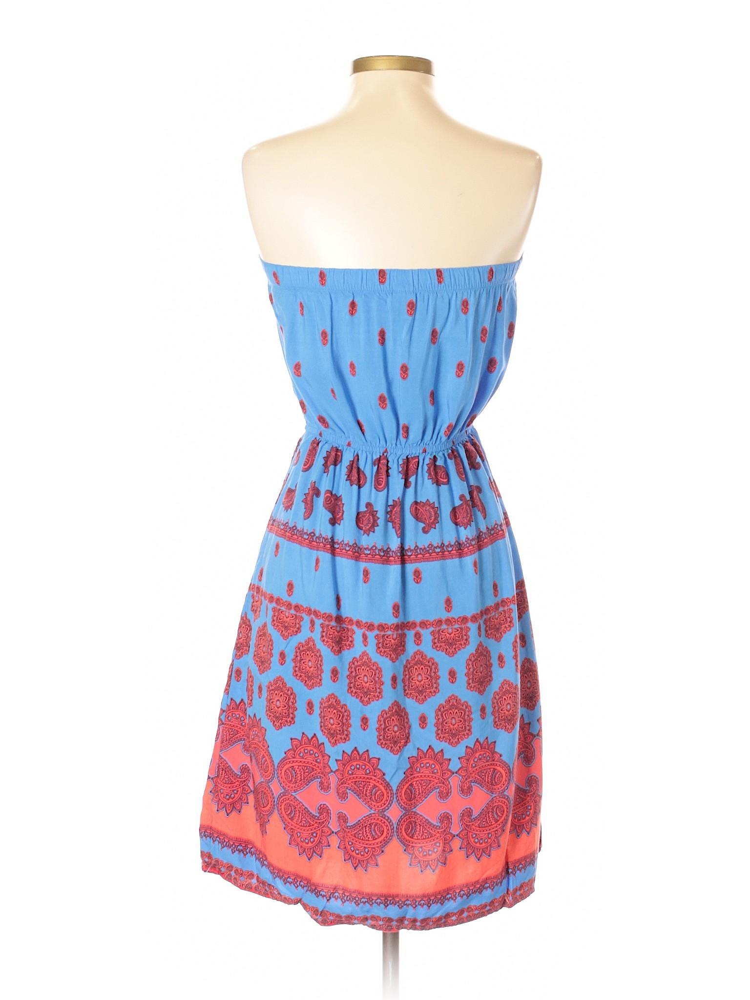 Boutique winter Navy Casual Old Dress xxRwrdZ