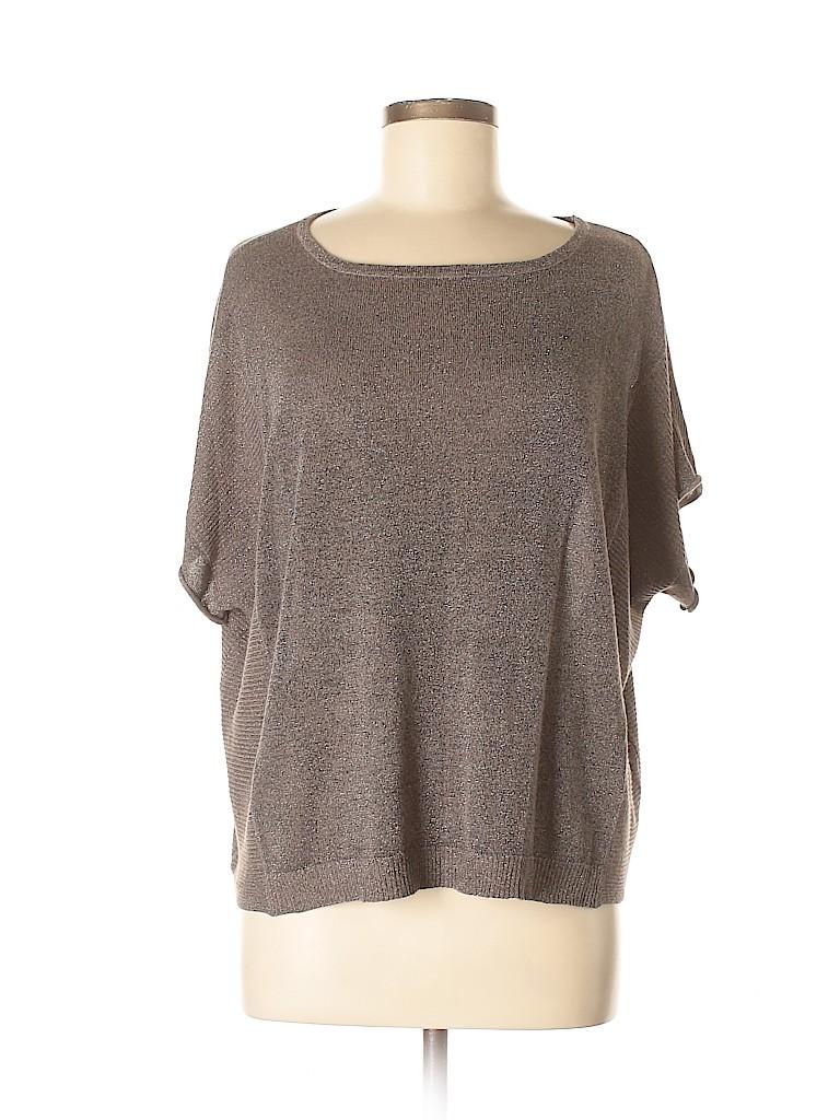 Cashmeres Women Short Sleeve Top Size S