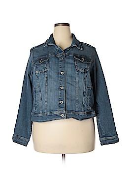 SONOMA life + style Denim Jacket Size 2X (Plus)