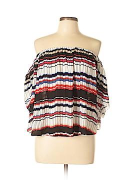 TOTO Short Sleeve Blouse Size XL