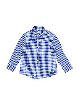 Crewcuts Long Sleeve Button-Down Shirt Size 3