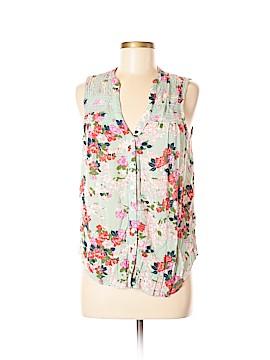 Meadow Rue Sleeveless Button-Down Shirt Size 8