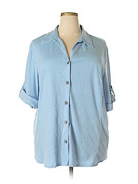 C.D. Daniels Short Sleeve Button-Down Shirt Size 3X (Plus)