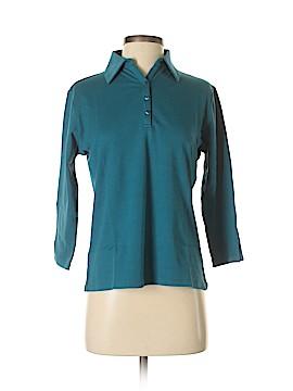 Draper's & Damon's 3/4 Sleeve Polo Size S