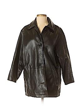 Eddie Bauer Leather Jacket Size S