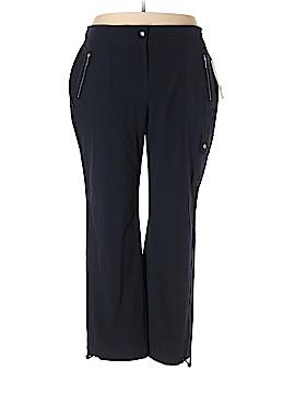 Rafaella Cargo Pants Size 2X (Plus)
