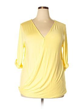 Tua 3/4 Sleeve Top Size 2X (Plus)