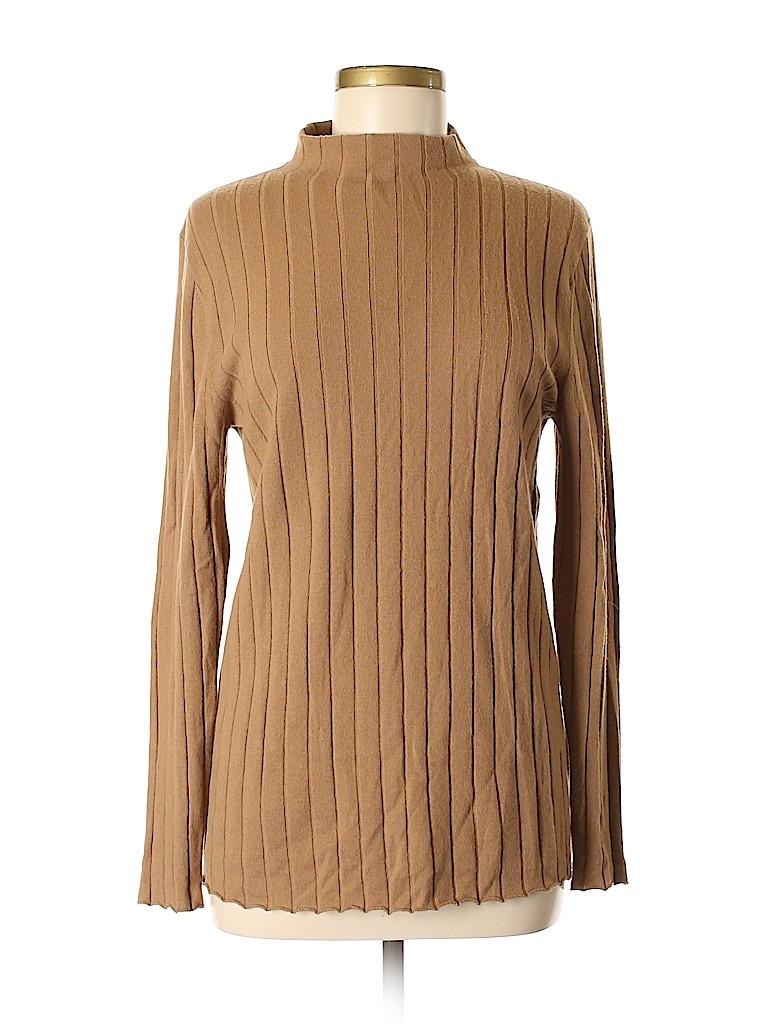 Lafayette 148 New York Women Wool Pullover Sweater Size M