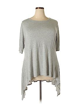 Cha Cha Vente Short Sleeve Top Size 3X (Plus)