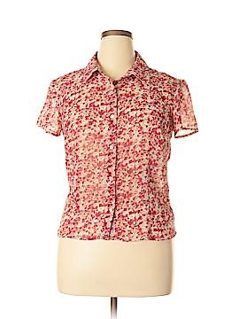 Rena Rowan Short Sleeve Blouse Size 12