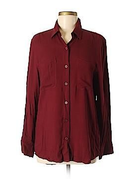 Talula Long Sleeve Button-Down Shirt Size M