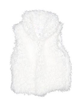 The Children's Place Faux Fur Vest Size 7 - 8