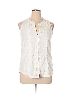 For Cynthia Sleeveless Button-Down Shirt Size XL