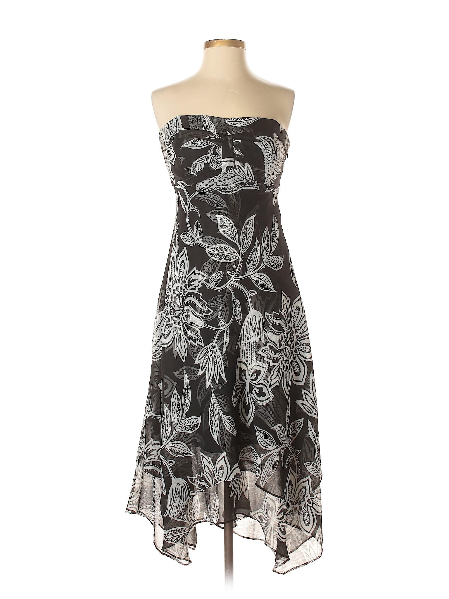 Casual White Dress Black winter Market Boutique House q1T5nX