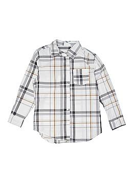 Crazy 8 Long Sleeve Button-Down Shirt Size 8