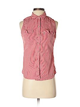 Levi's Sleeveless Button-Down Shirt Size XS