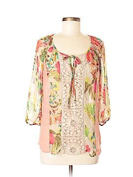 Meadow Rue 3/4 Sleeve Blouse Size 8